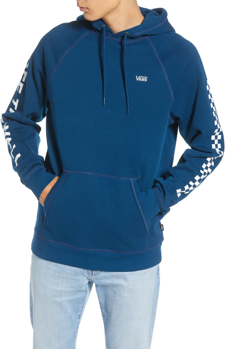 VANS Versa Water Repellent Hoodie, Main, color, 420
