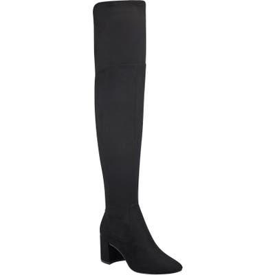 Marc Fisher Ltd Jayne Over The Knee Boot- Black