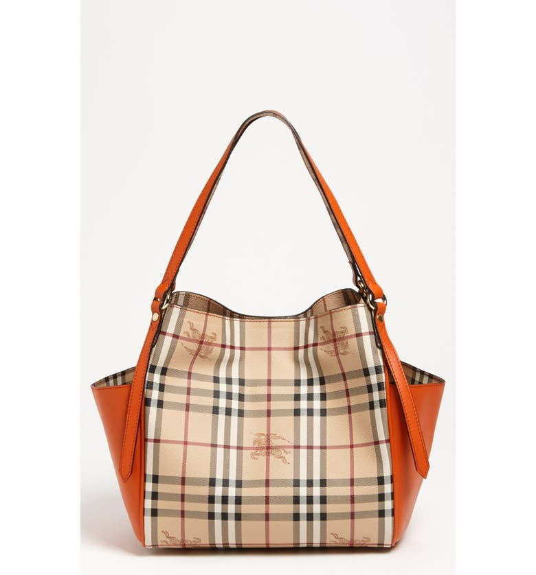 a70b9be7b2b Burberry 'Haymarket Check Canterbury - Small' Tote | Nordstrom