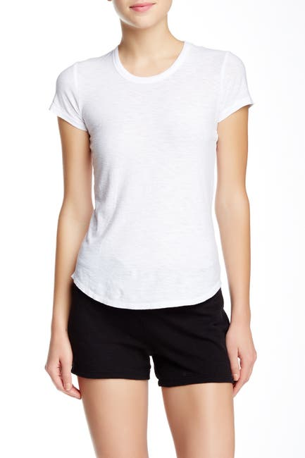Image of James Perse Crew Neck Short Sleeve T-Shirt
