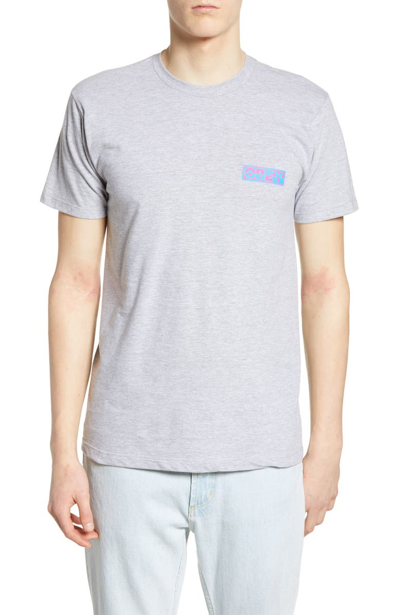 OBEY Inside Out Logo T-Shirt, Main, color, 060