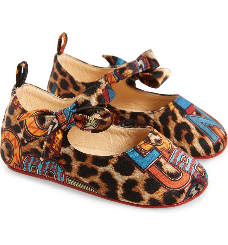 CHRISTIAN LOUBOUTIN Lou Babe Mary Jane, Main, color, LEOPARD