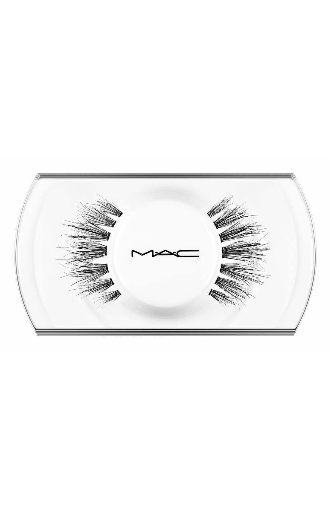 What it is: A pair of false lashes to give you slightly more dramatic length and provide eye-opening fullness toward the center of the eye. What it does: Handmade to exact specifications, the lashes are perfectly shaped and arranged to give a striking effect, whether you\\\'re going for a natural or dramatic look. MAC false lashes are available in a variety of shapes and densities. If properly cared for, the lashes can be reshaped or readorned as
