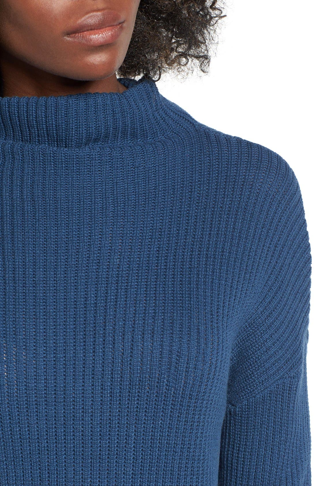 ,                             Mock Neck Sweater,                             Alternate thumbnail 25, color,                             401