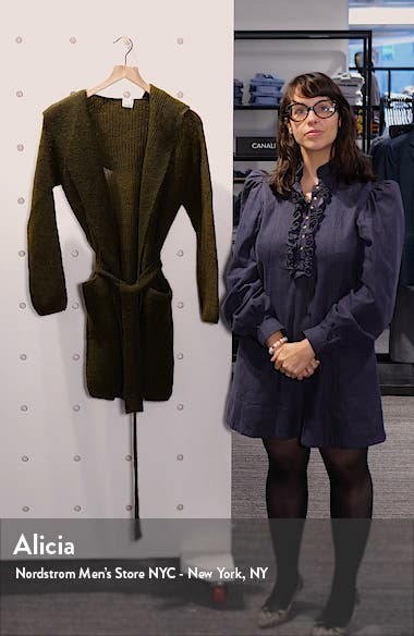 Fronda Hooded Open Front Cardigan, sales video thumbnail