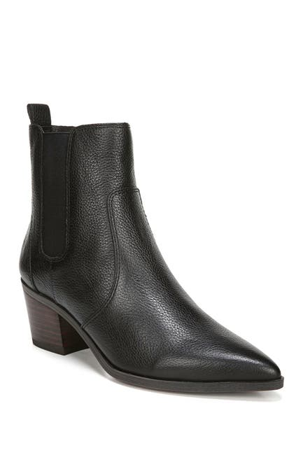 Image of Franco Sarto Sager Leather Chelsea Boot