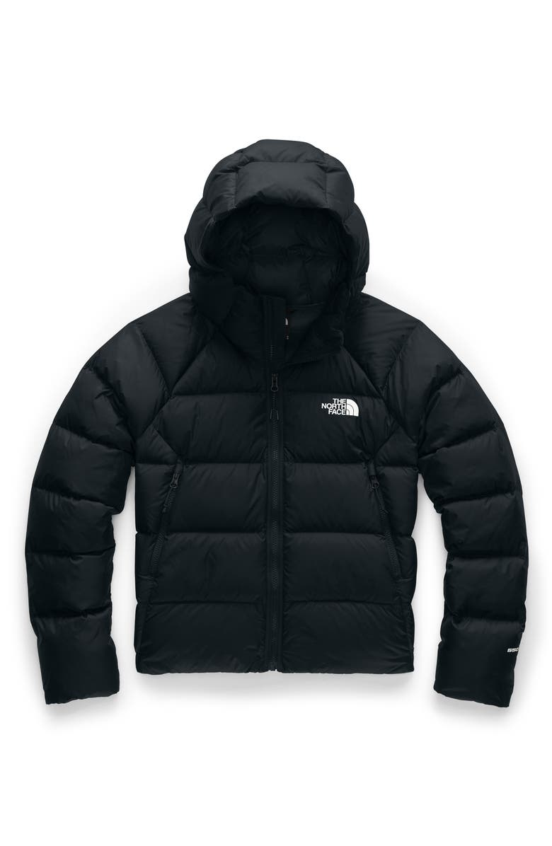 THE NORTH FACE Hyalite 550 Fill Power Down Jacket, Main, color, TNF BLACK