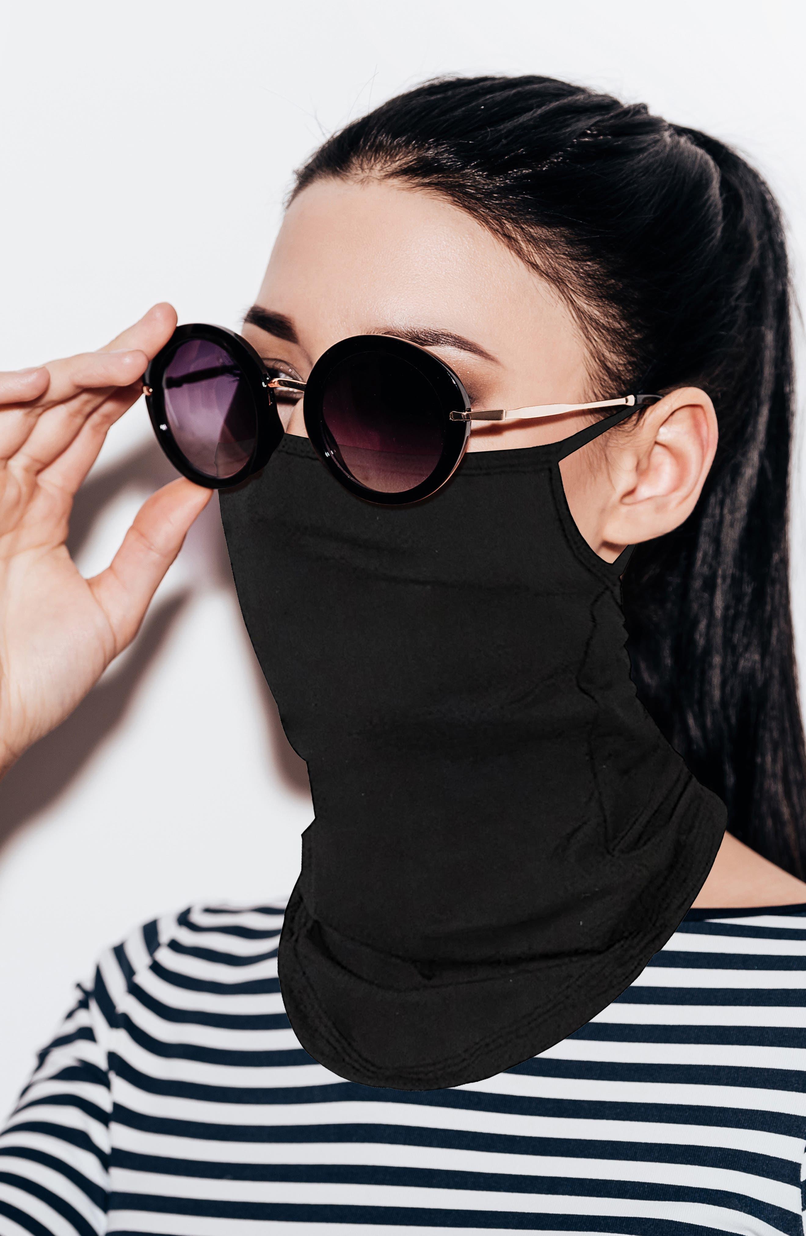 3-Pack Gaiter Adult Face Masks