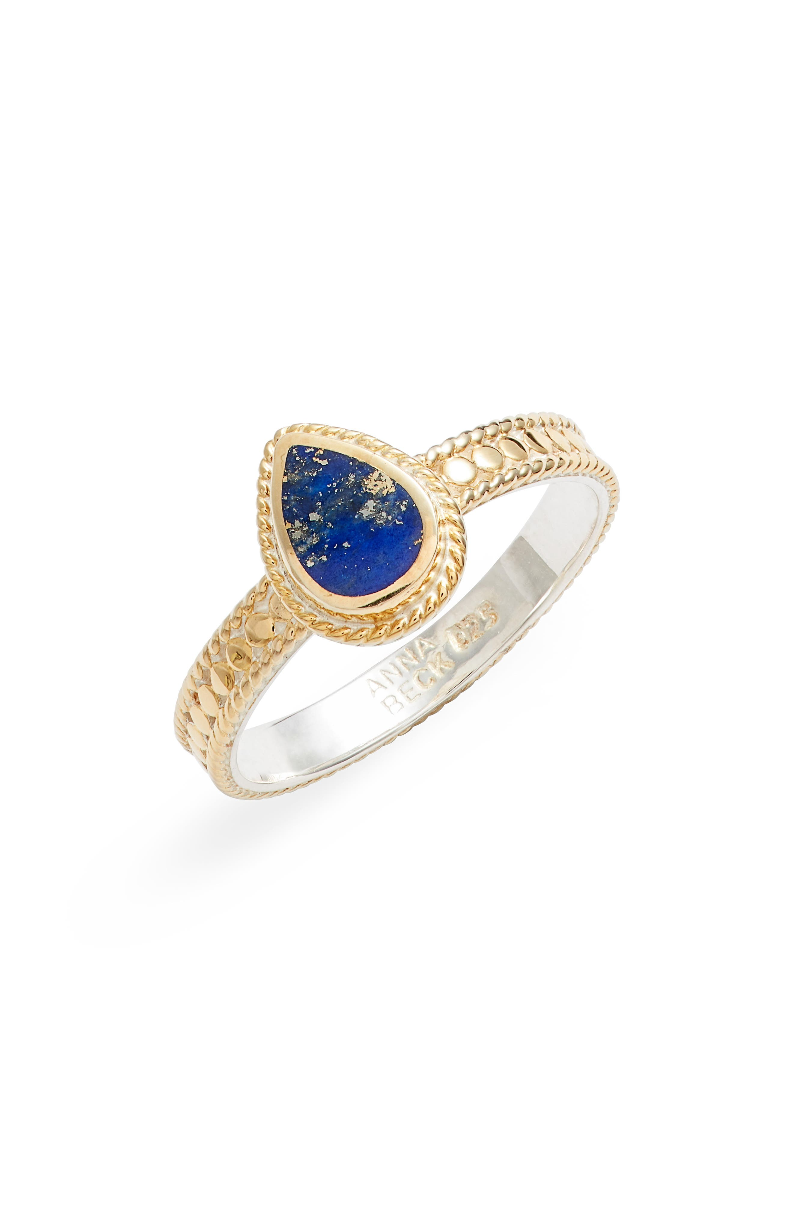 Lapis Lazuli Stacking Ring (Nordstrom Exclusive)