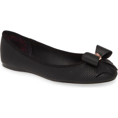 Ted Baker London Sually Flat, Black