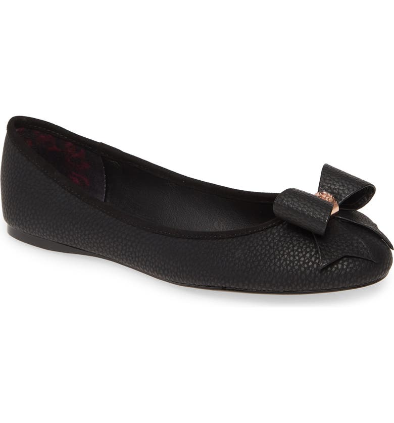 TED BAKER LONDON Sually Flat, Main, color, BLACK OPAL
