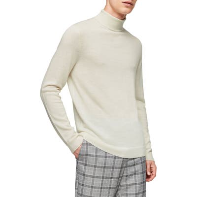 Topman Merino Wool Turtleneck Sweater