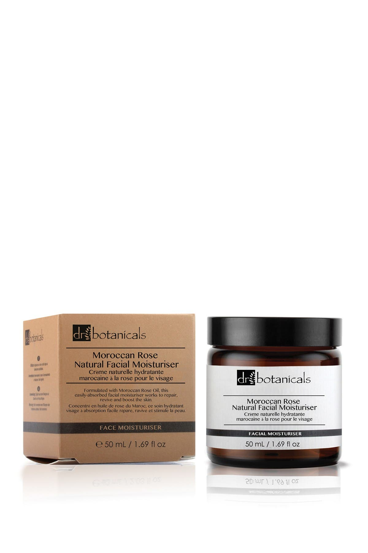 Image of skinChemists Moroccan Rose Natural Facial Moisturizer