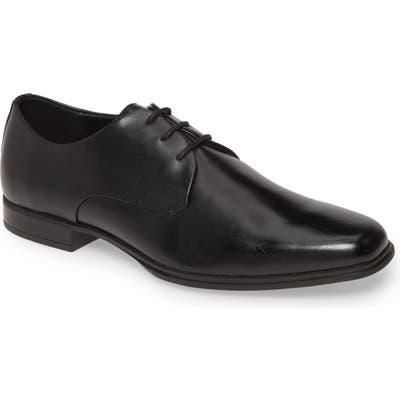 Calvin Klein Dillinger Plain Toe Derby- Black