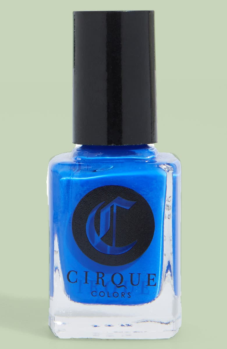 CIRQUE COLORS 'Poolside' Crème Nail Polish, Main, color, 420