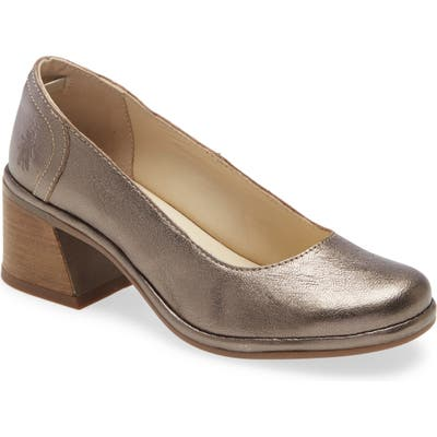 Fly London Luno Pump, Metallic