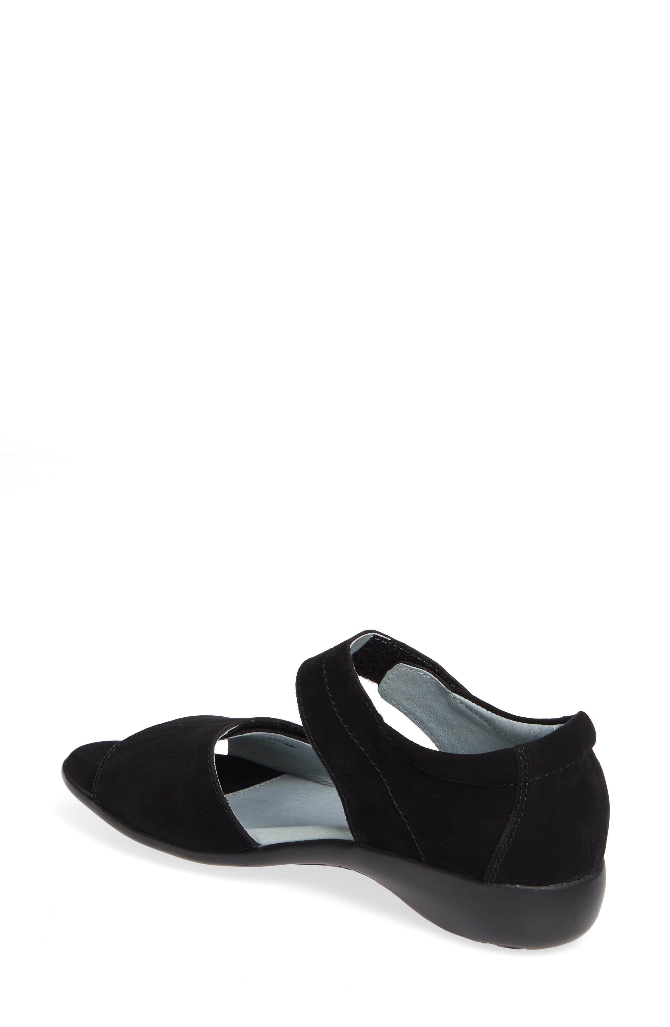 ,                             Superb Sandal,                             Alternate thumbnail 2, color,                             BLACK NUBUCK LEATHER