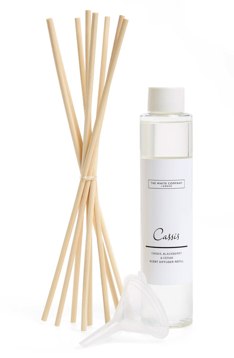 THE WHITE COMPANY Home Fragrance Diffuser Refill, Main, color, CASSIS