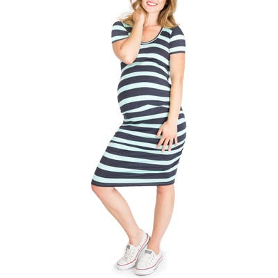 Nom Maternity Hailey Maternity Dress, Grey