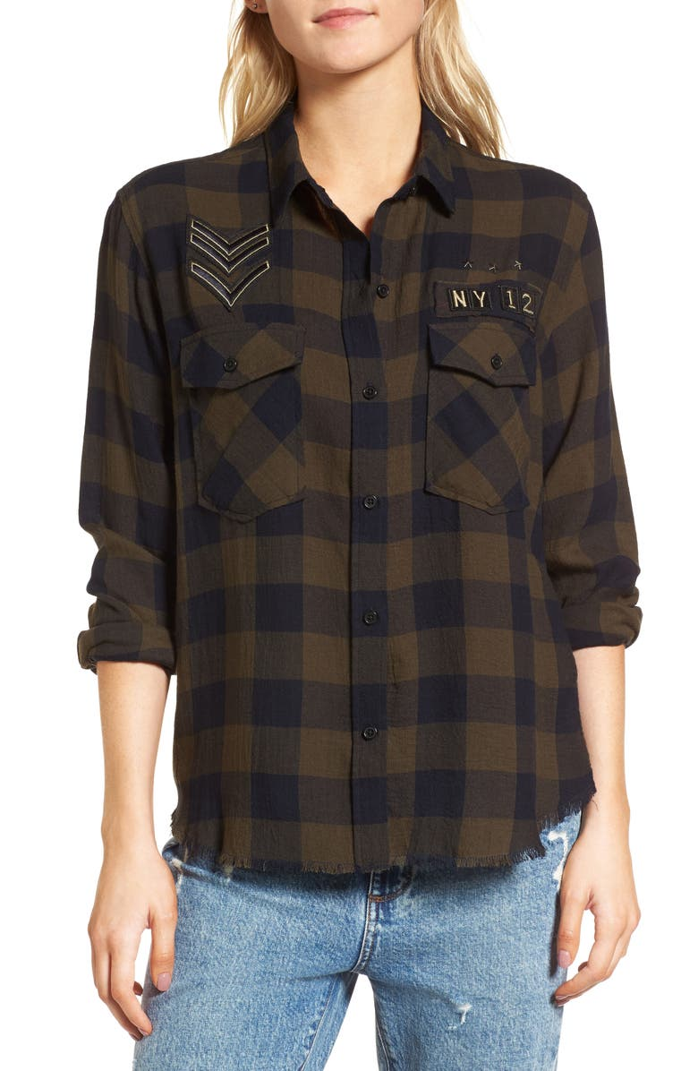 RAILS Pepper Boyfriend Shirt, Main, color, 002
