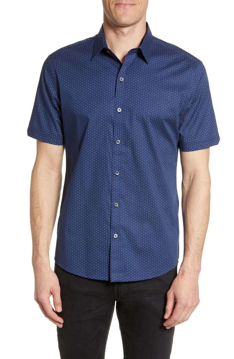 ZACHARY PRELL Dockery Regular Fit Shirt, Main, color, 411