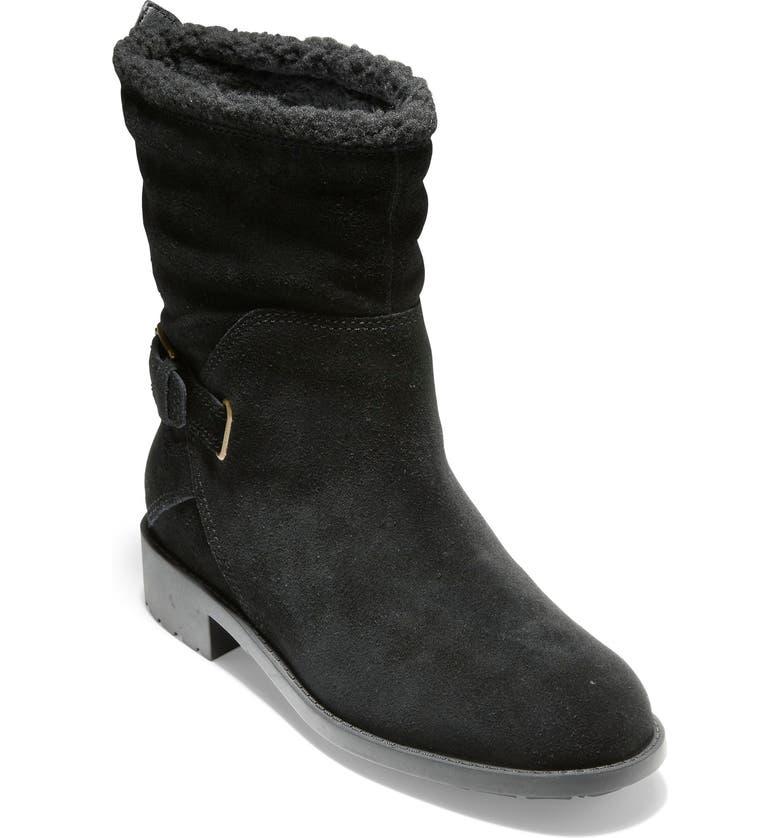 COLE HAAN Quiana Waterproof Boot, Main, color, 001