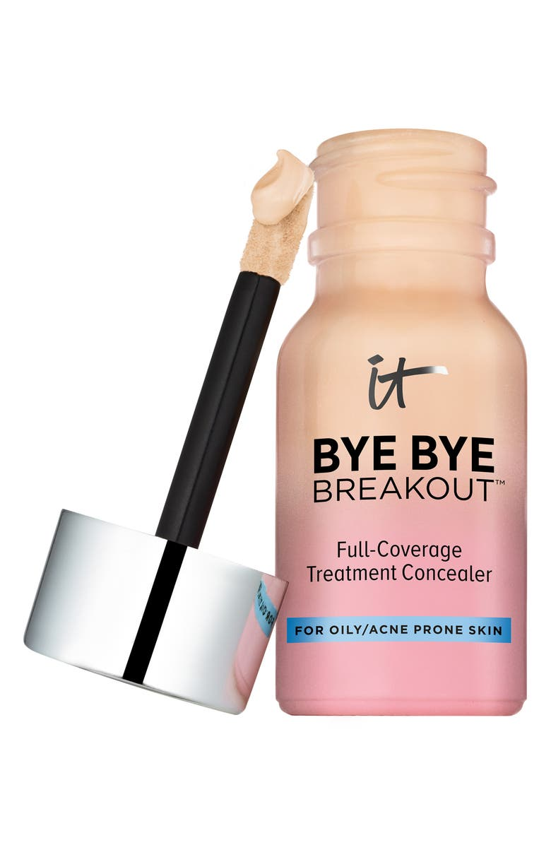 IT COSMETICS Bye Bye Breakout Full-Coverage Concealer, Main, color, LIGHT