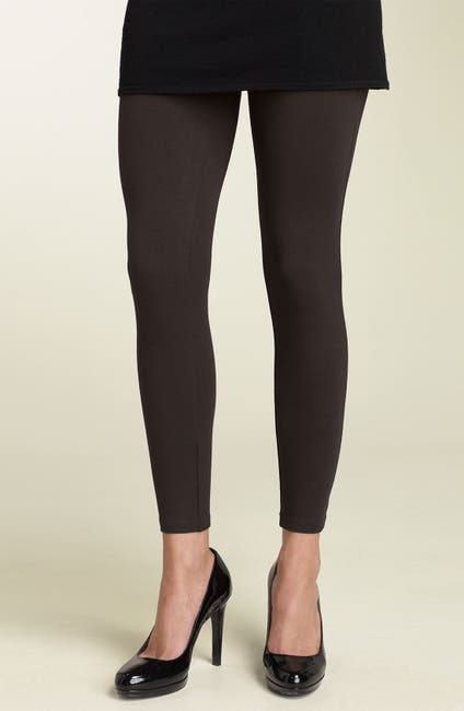 Image of HUE Knit Fitted Leggings