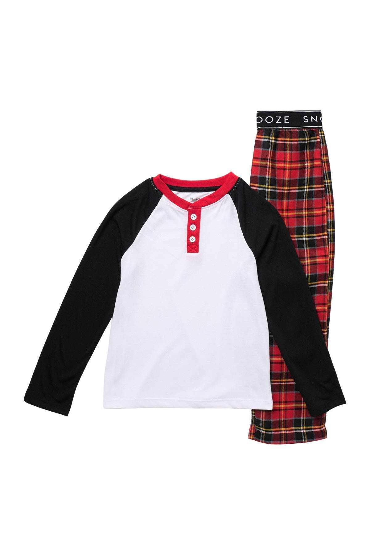 Image of Dream Life Flannel Top & Pajama Pants