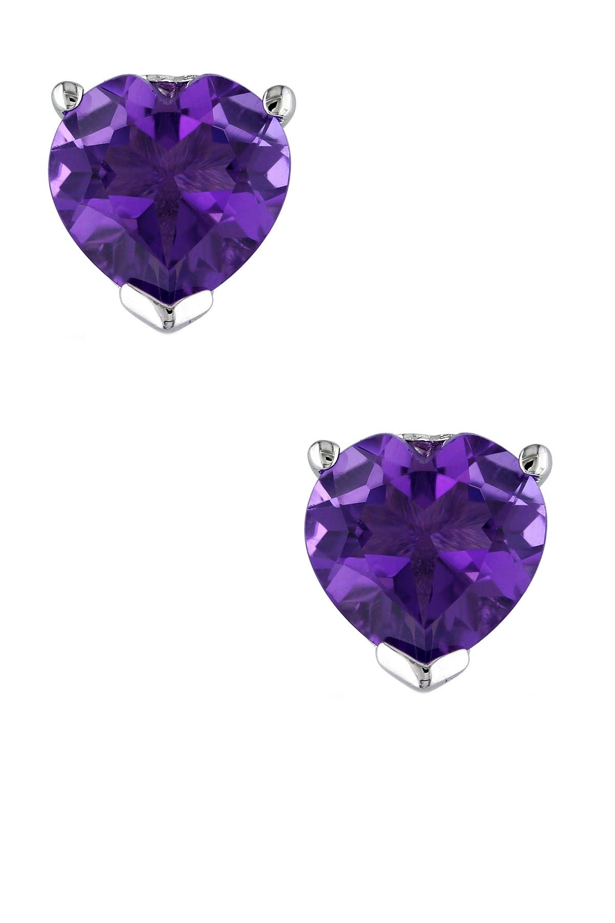 Image of Delmar Sterling Silver Brazilian Amethyst Earrings