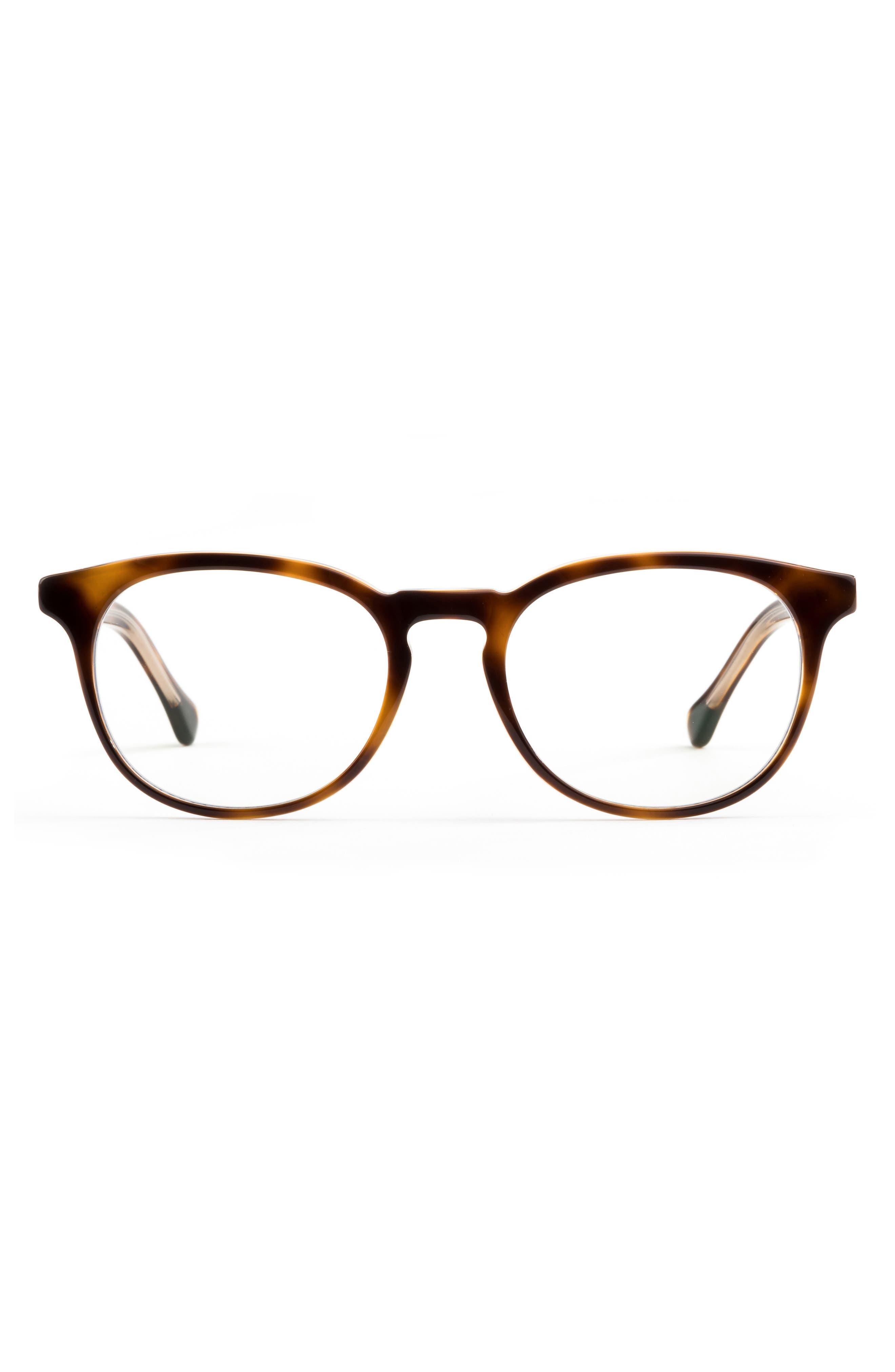 Roebling 49mm Round Blue Light Glasses