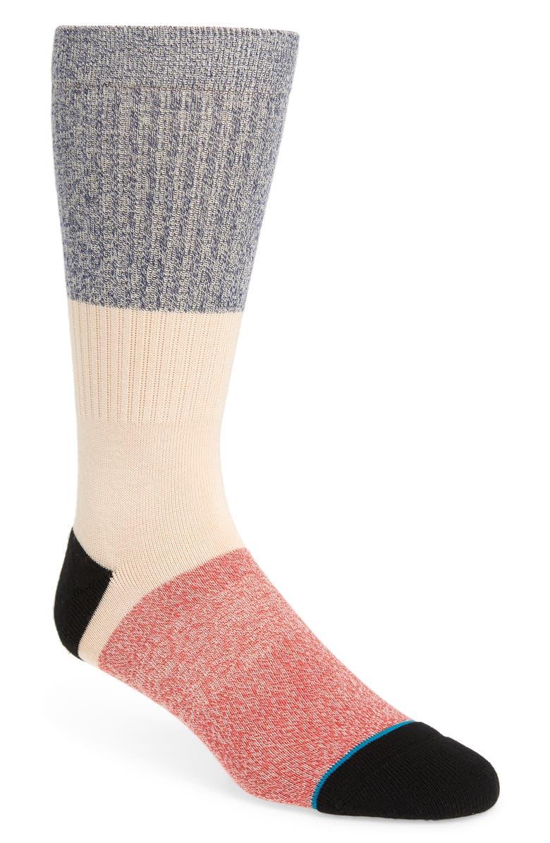 STANCE Neapolitan Socks, Main, color, NAVY