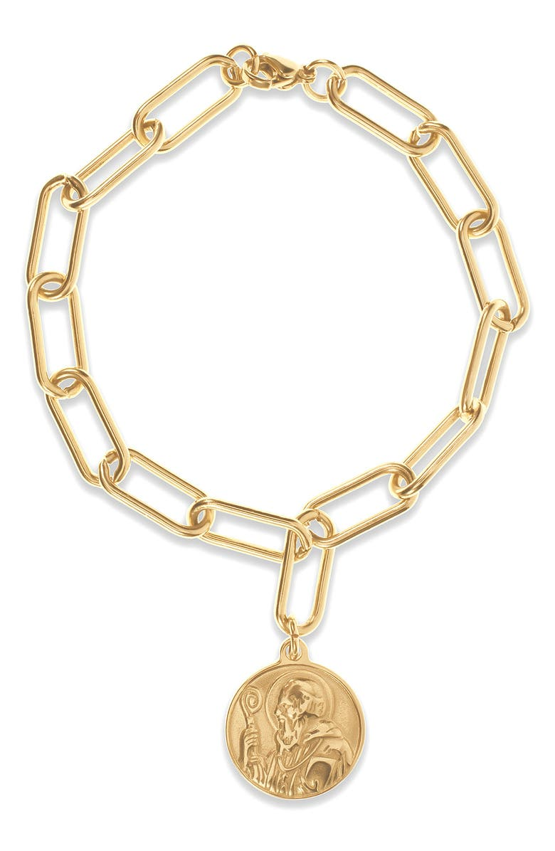 ELLIE VAIL Tate Coin Pendant Bracelet, Main, color, 710