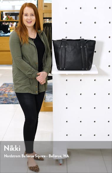 Kwaye Faux Leather Tote, sales video thumbnail
