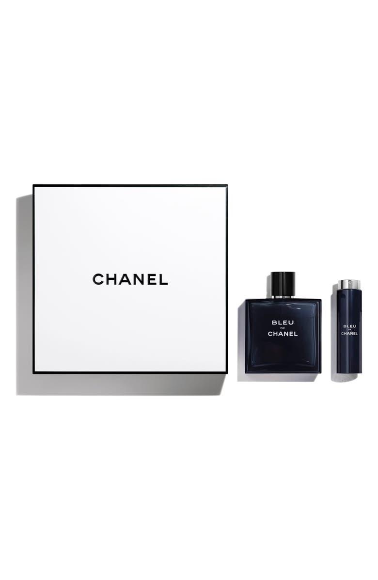 CHANEL BLEU DE CHANEL Eau de Toilette Twist & Spray Set, Main, color, 000
