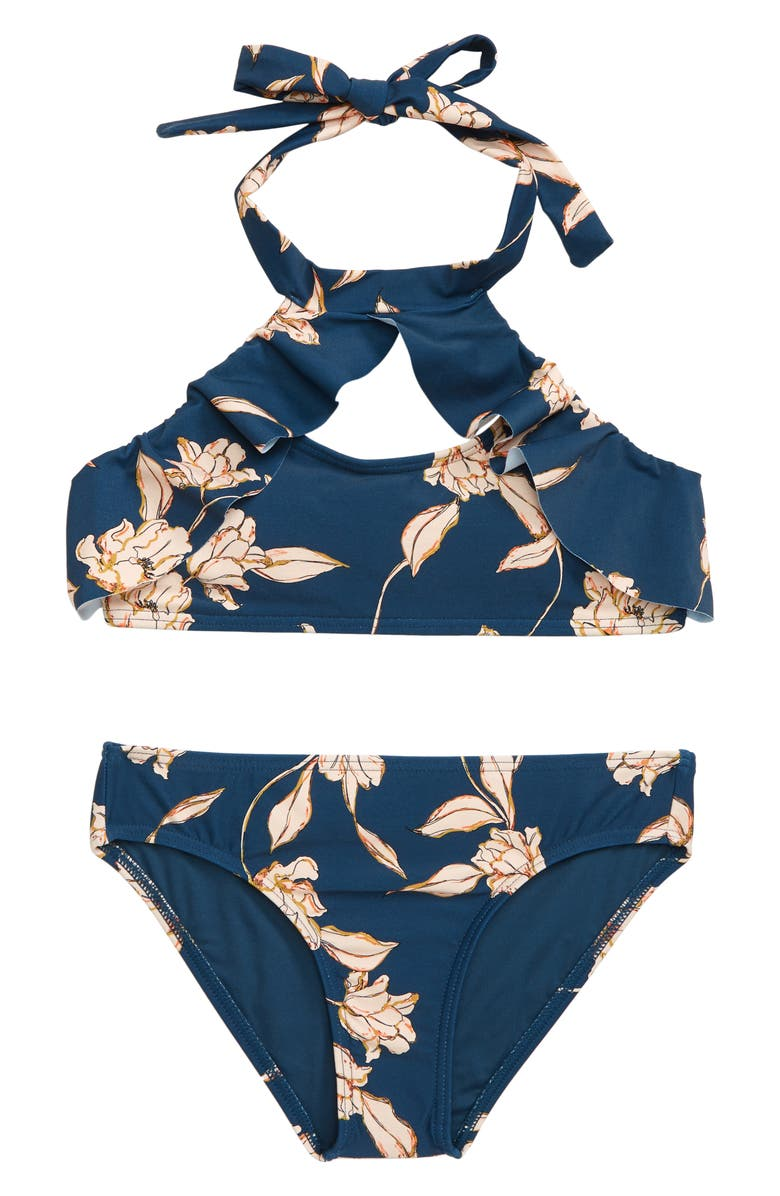 O'NEILL Emerson Two-Piece High Neck Swimsuit, Main, color, 407