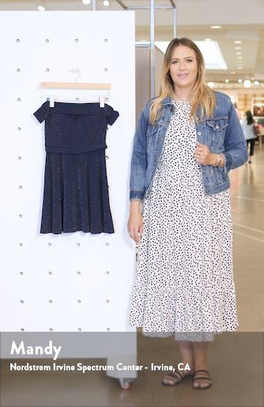 Off the Shoulder Minidress, sales video thumbnail