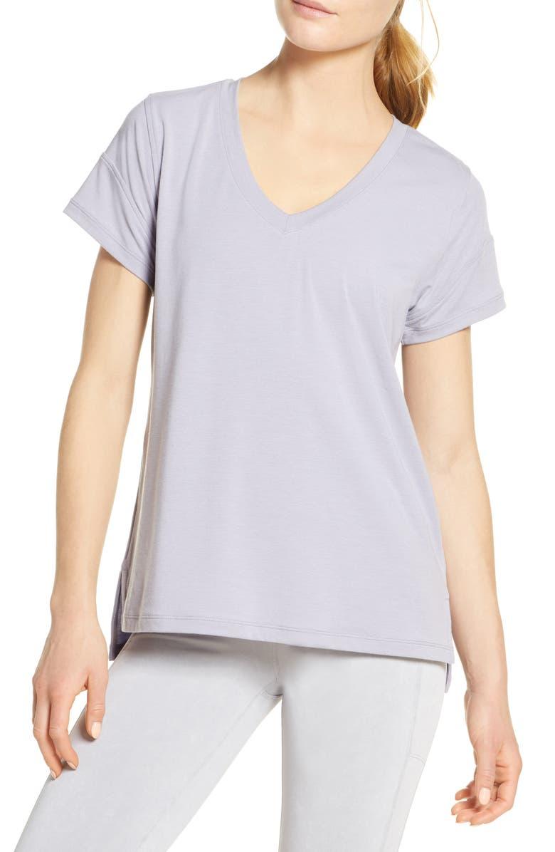 ZELLA Ava T-Shirt, Main, color, PURPLE PUDDING