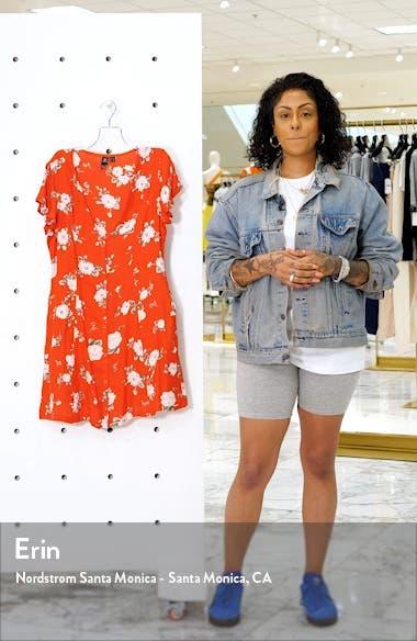 Now or Now Cherry Print Shirtdress, sales video thumbnail