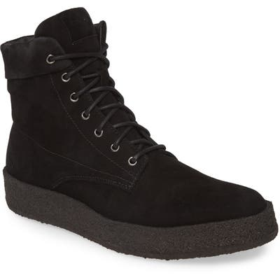 Allsaints Kip Plain Toe Boot, Black