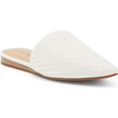 Lucky Brand Bradell Pointy Toe Mule- White