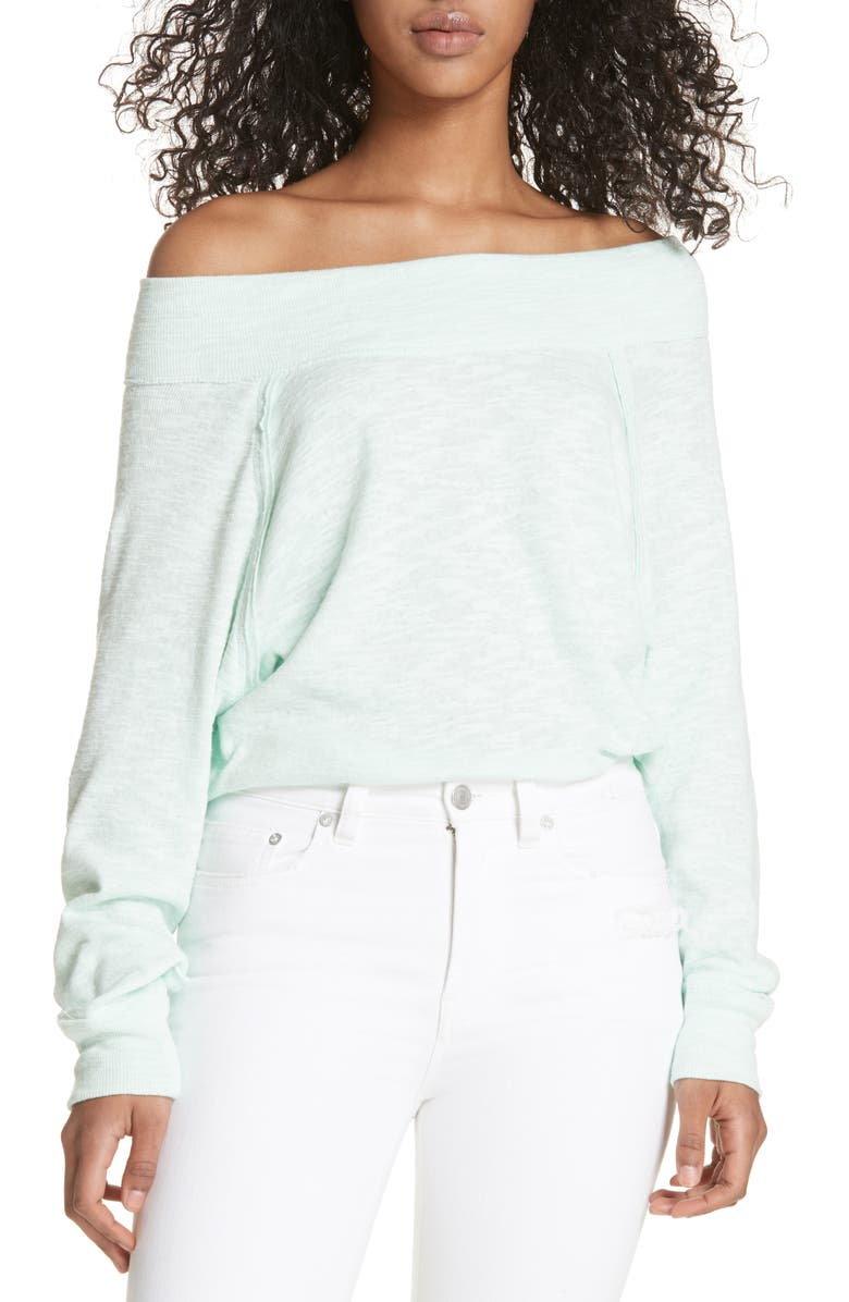 062c8b89c92 Free People Palisades Off the Shoulder Top | Nordstrom