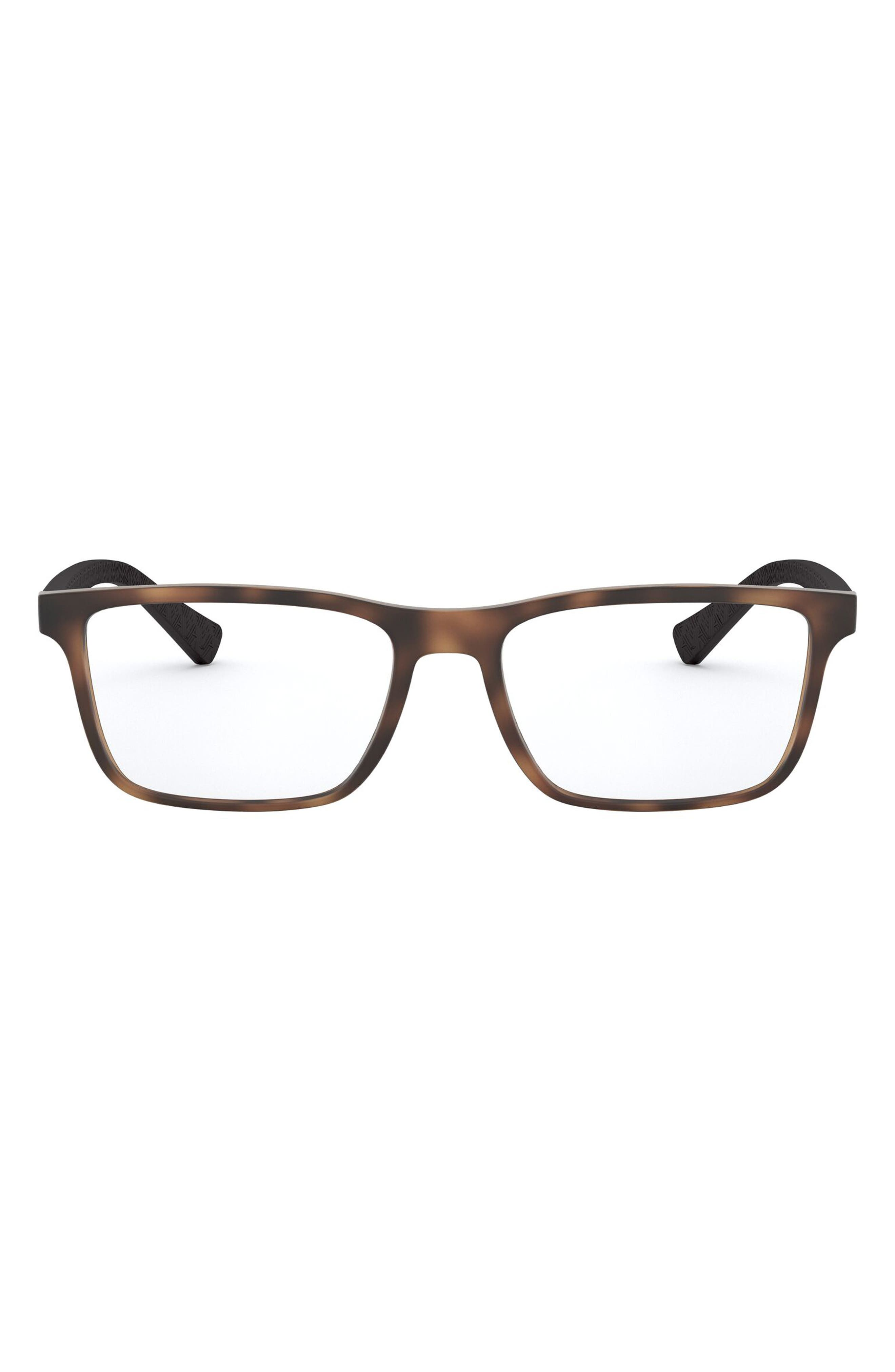 Men's A I X Armani Exchange 55mm Optical Glasses