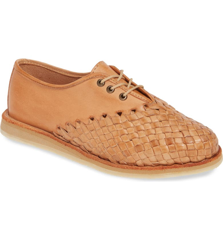 SBICCA Swansea Woven Oxford, Main, color, TAN