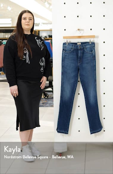 The Rascal High Waist Slice Flare Jeans, sales video thumbnail