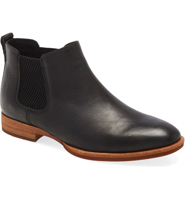 KORK-EASE<SUP>®</SUP> Kit Chelsea Boot, Main, color, BLACK LEATHER