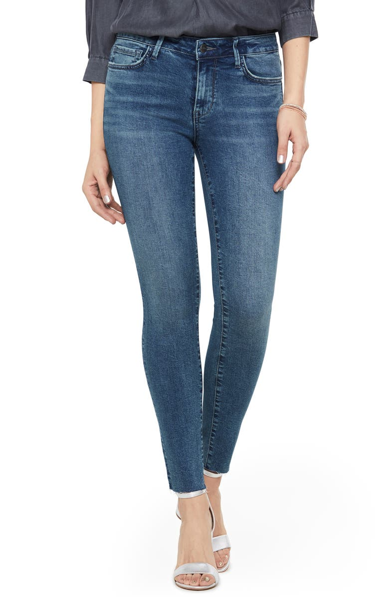 Sam Edelman The Kitten Raw Hem Ankle Skinny Jeans Dolce