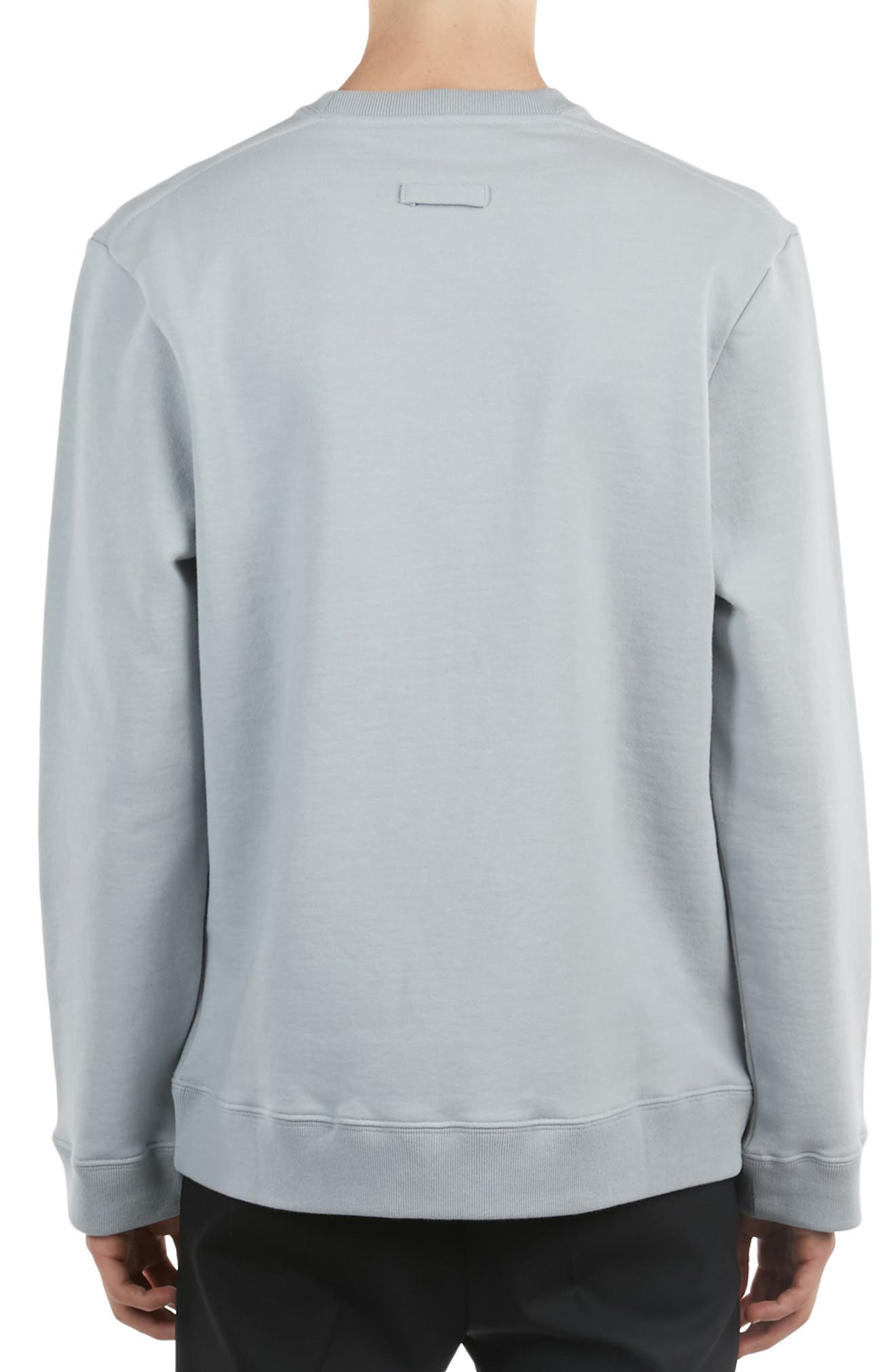 ,                             Graphic Sweatshirt,                             Alternate thumbnail 2, color,                             SILVER