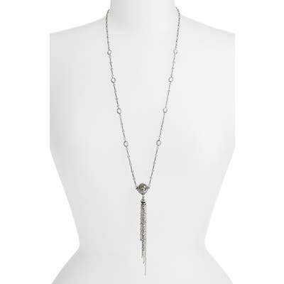 Konstantino Pythia Crystal Tassel Necklace