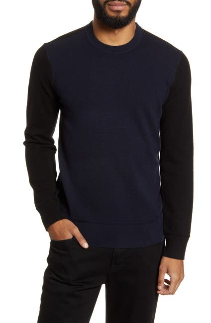 Image of Theory Hilles Standard Fit Crewneck Cashmere Sweater